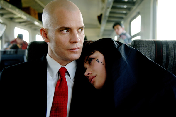 Hitman movie image Timothy Olyphant and Olga Kurylenko